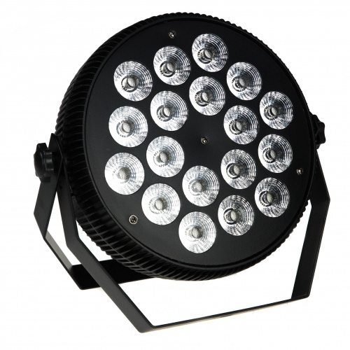 REFLEKTOR COLORSTAGE HD METAL SILENT PAR LED 18x10 RGBW