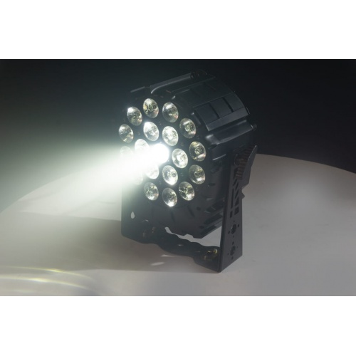 FLASH LED PAR 64 19x10W 4in1 RGBW 4 SECTIONS SHORT