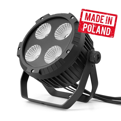 REFLEKTOR PAR LED 4X30 RGBW 4IN1 IP65 MK2  FLASH