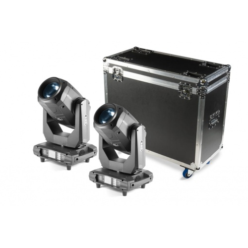 ZESTAW FLASH BUTRYM 2X MOVING HEAD 17R CMY 3IN1 SET ver III